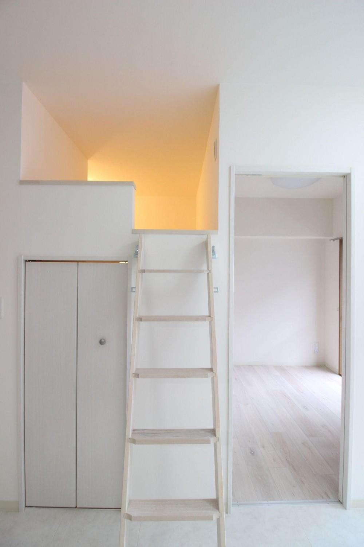 ロフト+W.I.C.のある、よくばり1DK!30平米の空間を有効利用。 (子供部屋)