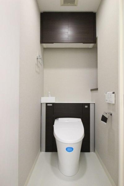 トイレ (ロフト+W.I.C.のある、よくばり1DK!30平米の空間を有効利用。)
