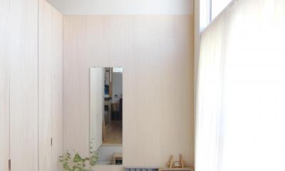 木造の家 (玄関1)