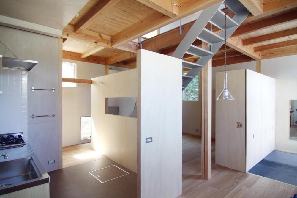 木造の家 (リビング1)