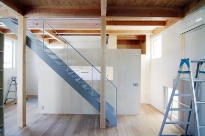 木造の家 (リビング3)
