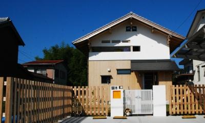 外観|寺町の家