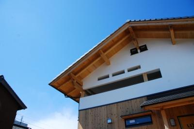 外観 (寺町の家)