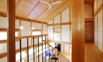 廊下|寺町の家