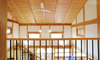 天井|寺町の家