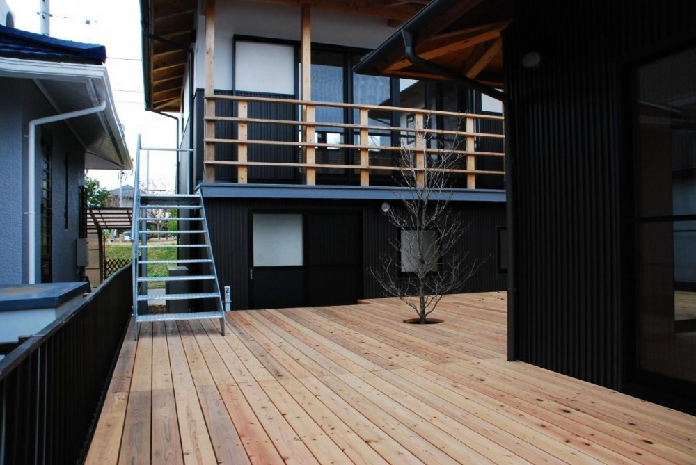 Library house (テラス)