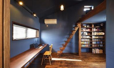 男の隠れ家的書斎