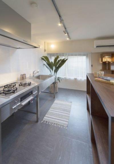 働く大人のための家 (キッチン)