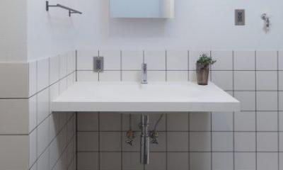 洗面室|働く大人のための家