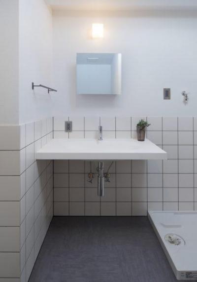 洗面室 (働く大人のための家)
