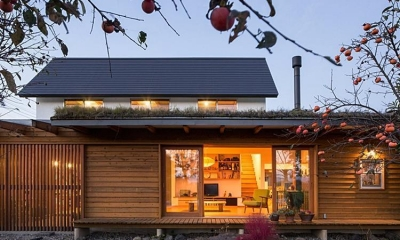 草屋根の家 (外観)