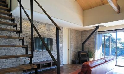新築を超える古民家リノベーション (LDK)