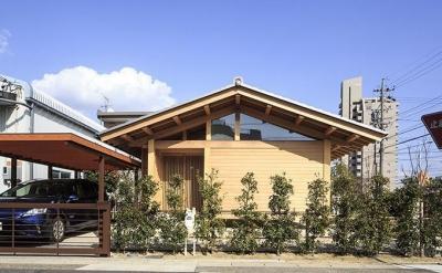 木組みの家 (玄関)
