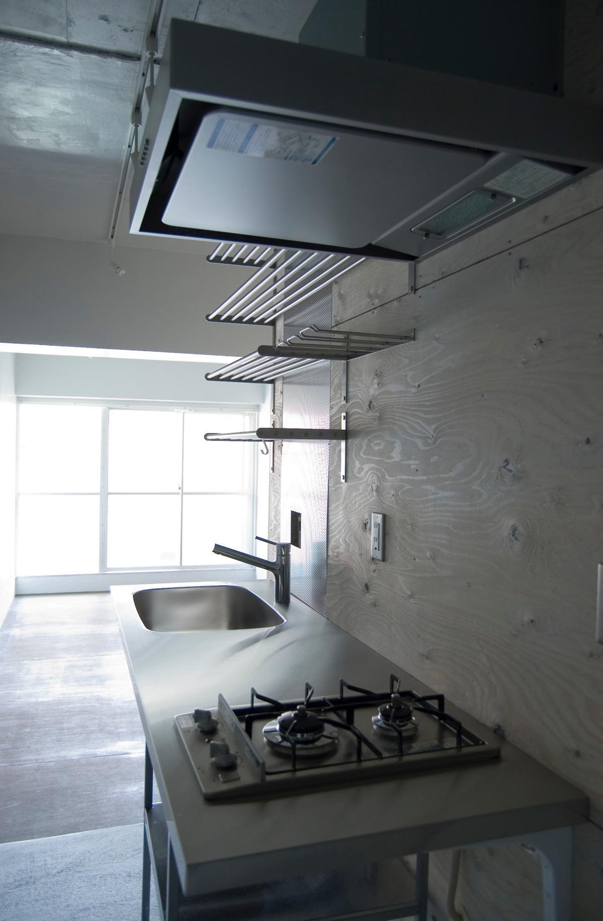 目黒の住宅の部屋 キッチンとリビング