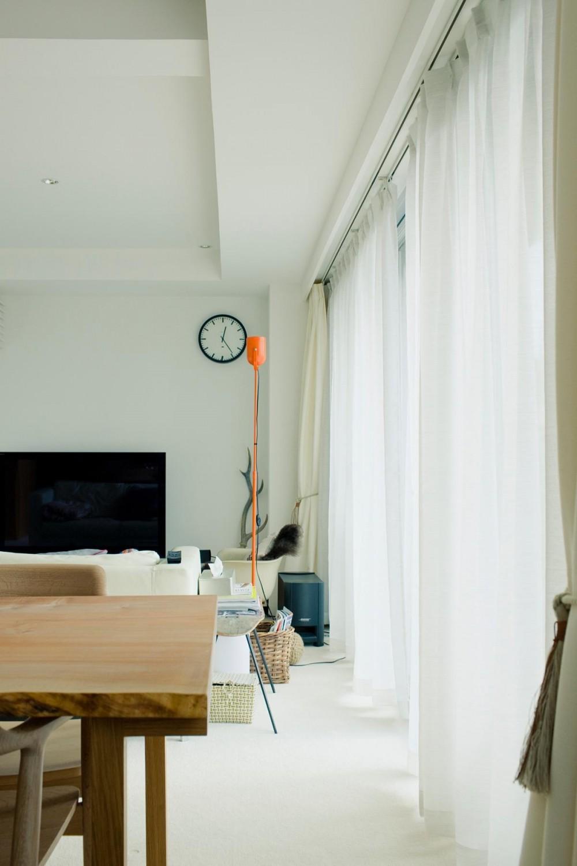 富ヶ谷の住宅 (日差しを感じるリビング)