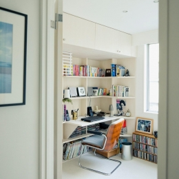 富ヶ谷の住宅 (沢山の書籍を収納できる書斎)