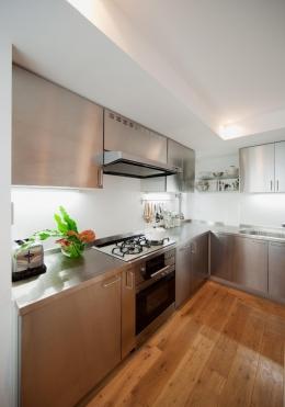 富ヶ谷の住宅 (料理教室を開けるゆとりのあるキッチン)