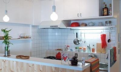 breeze-回遊性ある空間で動線もスムーズ (キッチン)