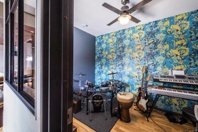 スタジオ (ブルックリンテイスト スタジオのある家)