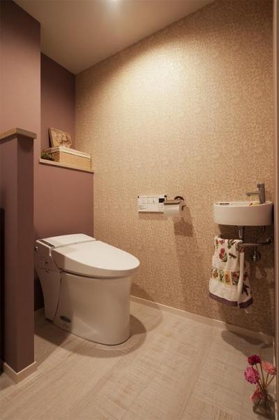 トイレ (明るく楽しく!家族の好きが詰まったおうち)