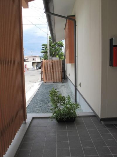 I.N邸(Q1住宅)床下エアコンの家 (玄関)
