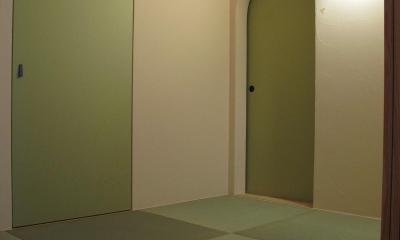 I.N邸(Q1住宅)床下エアコンの家 (和室)