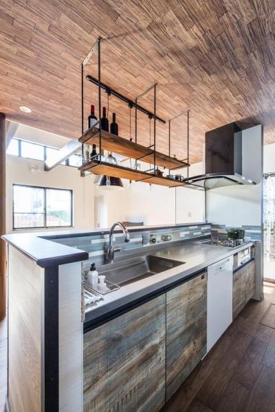 キッチン (ブルックリンテイスト スタジオのある家)