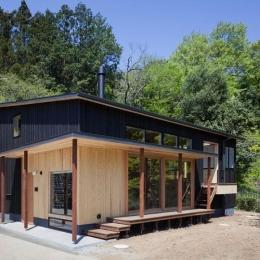 森林公園の家 (縁側のある住宅)
