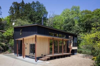 縁側のある住宅 (森林公園の家)
