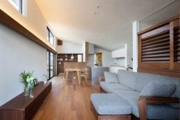長野の家 (リビングダイニング)