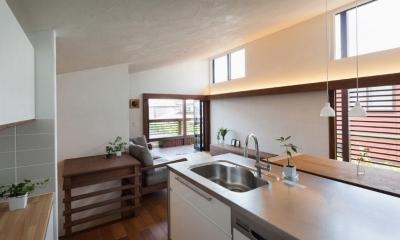 ペニンシュラキッチン|長野の家