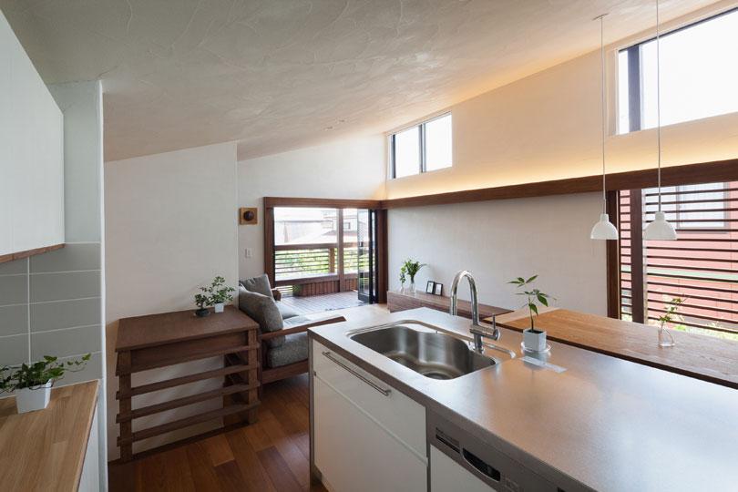 長野の家の写真 ペニンシュラキッチン