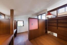 長野の家 (収納たっぷりの子供部屋)