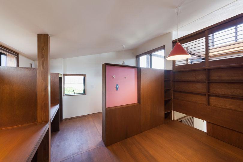 長野の家の写真 収納たっぷりの子供部屋