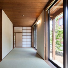 長野の家 (落ち着きのある和室)