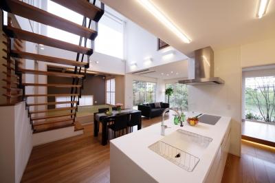 長住の家 (キッチン)