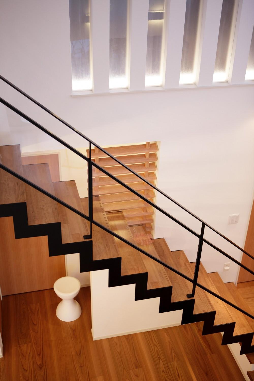 長住の家 (室内階段)