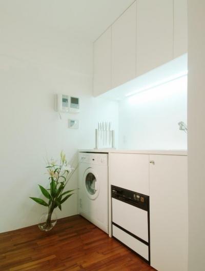 キッチン (alumina-高級家具が主役のシンプルな空間)