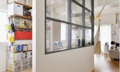 室内窓|忙しくても家族の時間を大切に!―課題は家事時短と子ども達との距離