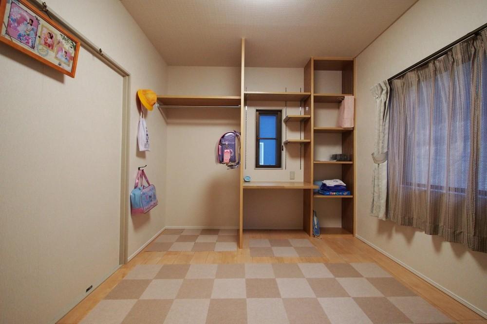 子供部屋全体 (ここちゃんの部屋)