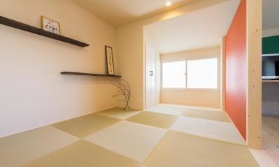 2×4住宅を二世帯にリフォーム〜外国風インテリアに (和室)