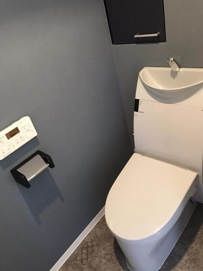 トイレ (東京都台東区 マンション×リノベーション)