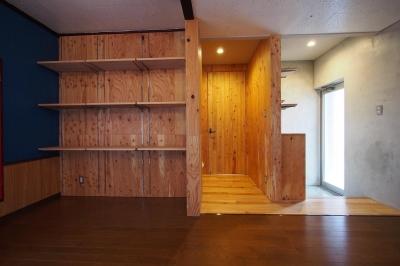 ヨガスタジオ (受け継がれる愛着の家)