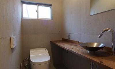 受け継がれる愛着の家 (トイレ)