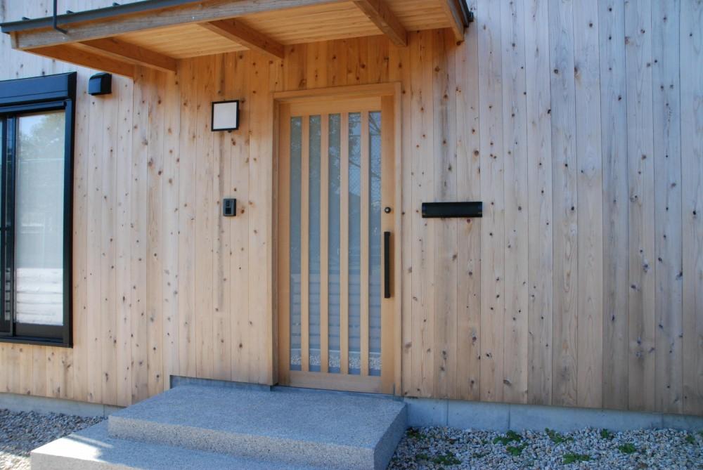 潮見の家 (玄関扉)