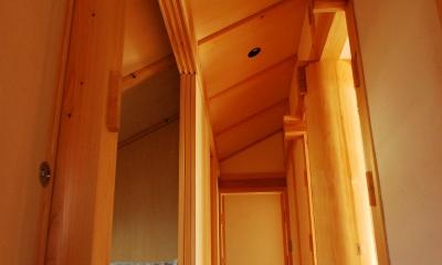 廊下|潮見の家