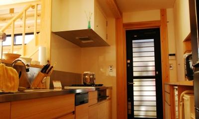 キッチン|潮見の家