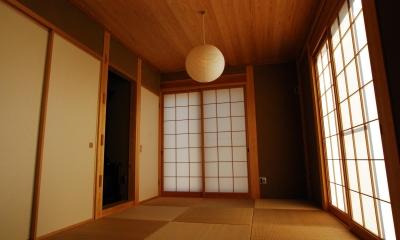 和室|潮見の家