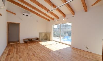 豊田市の家2 (広々としたリビング)