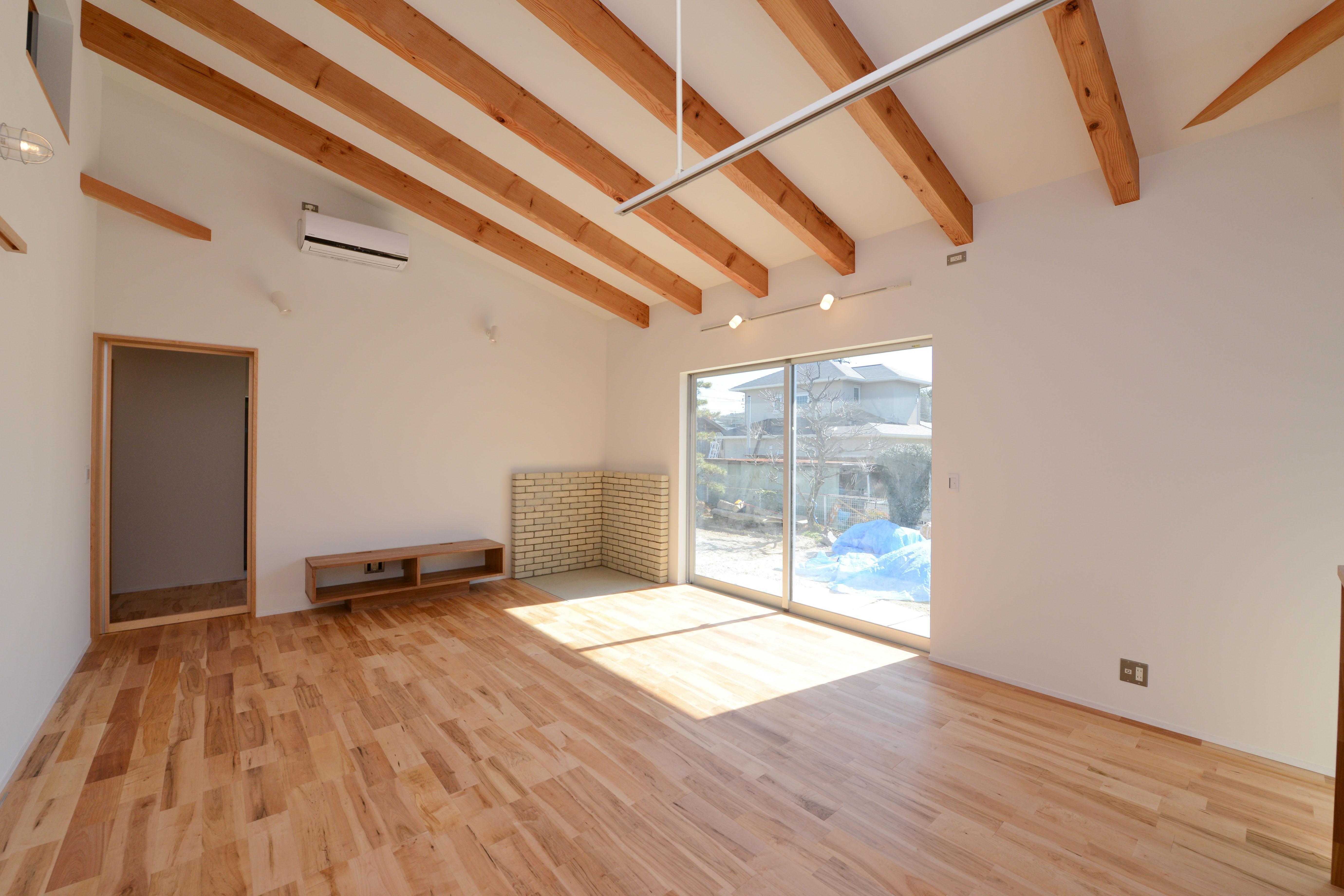 豊田市の家2の部屋 広々としたリビング